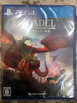 シタデル:永炎の魔法と古の城塞 新品未開封 PS4 CITADEL