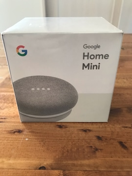 Google Home Mini グーグル ホーム ミニ 新品 未使用 チョーク