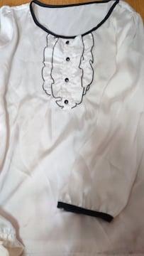 【新品】春夏フリルシャツ