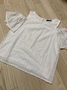 B724/INGNI/ホワイト/カットソー/