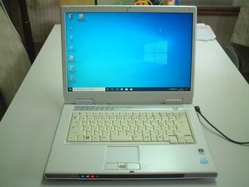 すぐ使える Windows10 ワイド DVDマルチ 無線 FMV-NF50X
