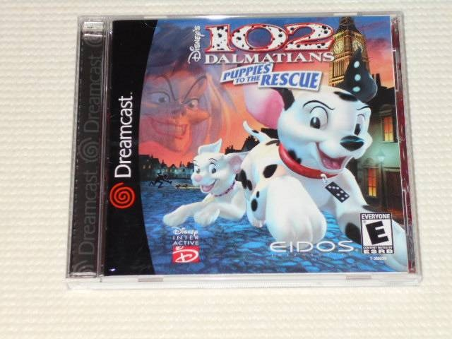 DC★102 DALMATIANS PUPPIES TO THE RESCUE 海外版  < ゲーム本体/ソフトの