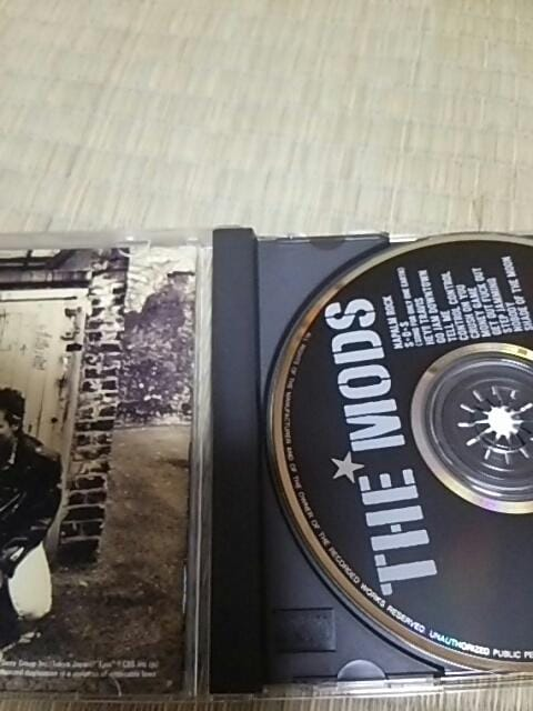 CD THE MODS NAPALM ROCK モッズ < タレントグッズの