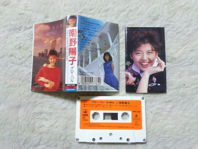 カセットテープ 南野陽子 グローバル '88/7  < タレントグッズの