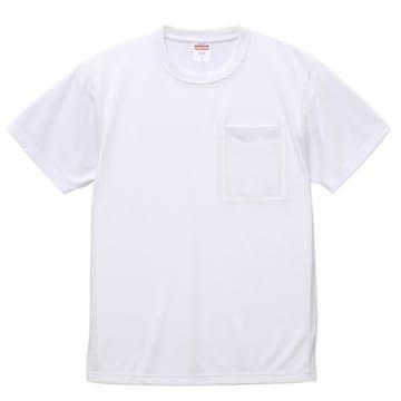 6.5オンス ドライコットンタッチ Tシャツ(ポケット付) L