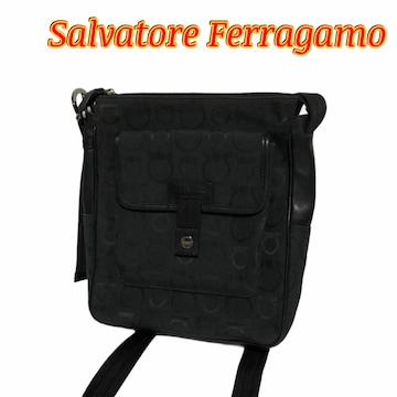 正規品 美品 Salvatore Ferragamo フェラガモ ショルダーバッグ