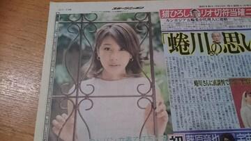 カトパン「加藤綾子」2016.5.25 スポニチ 1枚
