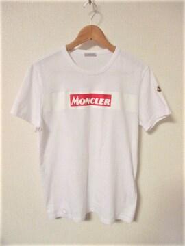 ☆MONCLER モンクレール ボックスロゴ Tシャツ 半袖/メンズ/M☆国内正規品