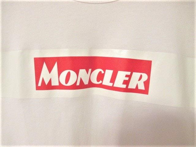 ☆MONCLER モンクレール ボックスロゴ Tシャツ 半袖/メンズ/M☆国内正規品 < ブランドの