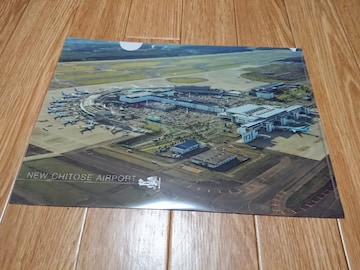 NEW CHITOSE AIRPORT 新千歳空港 A4ファイル