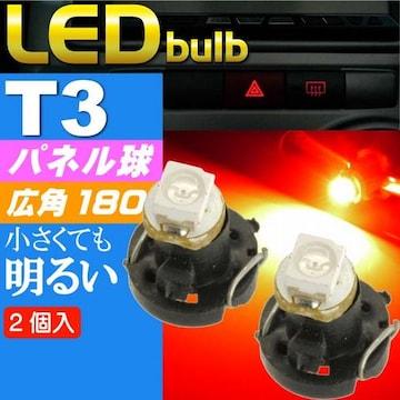 T3 LEDバルブレッド2個 SMDウェッジ球 as10192-2