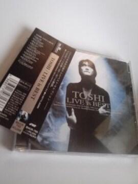 送料無料TOSHI LIVE is BEST ソロ活動'93-'97の奇跡