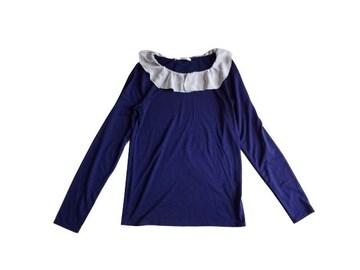 レトロガール RETRO GIRL シフォン フリル ロンT 長袖 Tシャツ