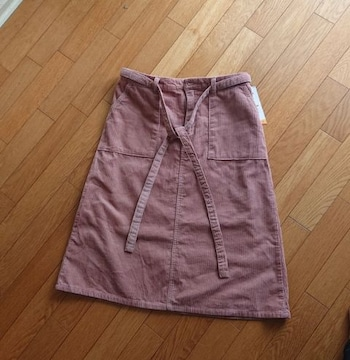 大きいサイズ★コーデュロイ3WAYスカート★LL★