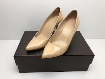 X062 グッチ GUCCI ハイヒール パンプス 靴 サイズ36 1/2