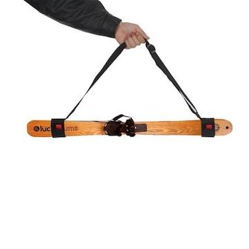 スキー板用 スキーショルダーキャリアストラップ