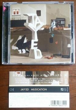 (CD)JAY'ED/ジェイド☆MUSICATION★帯付き♪即決アリ♪