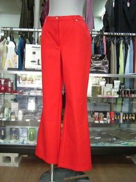 【エスカーダ】赤のブーツカットジーンズ