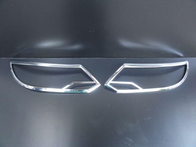 フォルクスワーゲン クロームメッキヘッドライトリング ヘッドランプリム ティグアン 13y〜 < 自動車/バイク