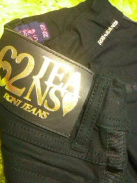 ●RONI●ブラックライン ブラックpants22-23(120前後)未使用 < ブランドの