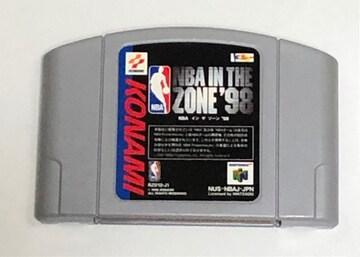 N64 NBA イン ザ ゾーン98