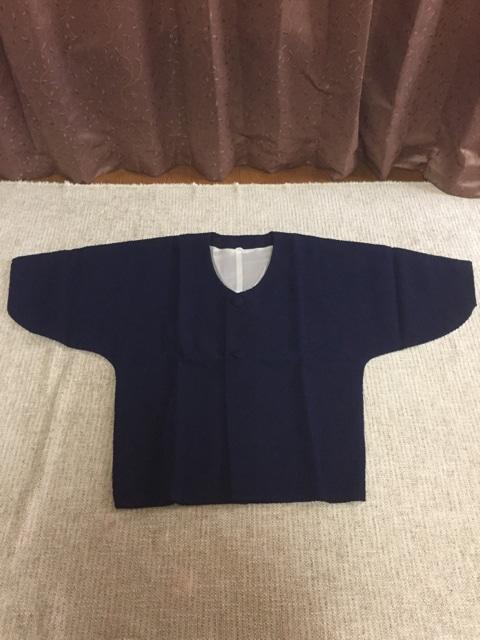 521.新品☆和装羽織☆紺色  < 女性ファッションの