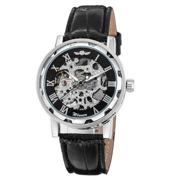 アンティーク風 自動巻き腕時計