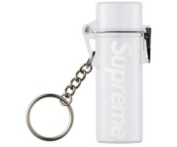 国内正規品 Supreme Waterproof Lighter Case Keychain Clear