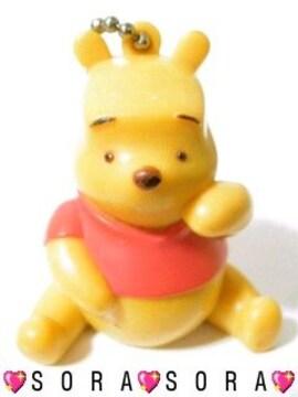 ディズニー【プーさん】可愛い♪ボールチェーンキーホルダー