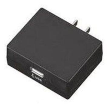 ☆YAZAWA AC/USB変換アダプター1USB 2A  HC100BKU2A