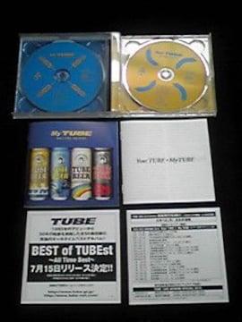 TUBE Your TUBE My TUBE 帯付き 美品 即決 2枚組 アルバム
