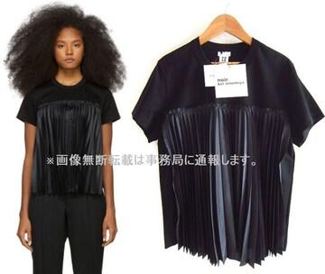 新品 19SS noir kei ninomiya プリーツ パネル Tシャツ