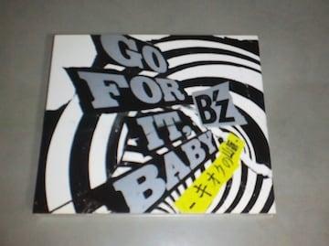 B'z GO FOR IT BABY キオクの山脈 初回限定盤DVD付き