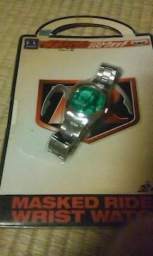 仮面ライダーの腕時計