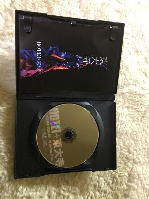 布袋寅泰DVD  HOTEI+東大寺  新品同様 < タレントグッズの