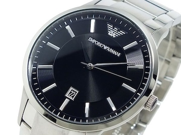 エンポリオ アルマーニ EMPORIO ARMANI 腕時計 AR2457 ブラック