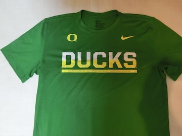 ナイキ【DRI FIT】 【OREGON DUCKS】【DUCKS】ロゴT US M