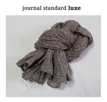 ジャーナルスタンダードラックス*journal standard luxe★フラワー柄スカーフ/新品