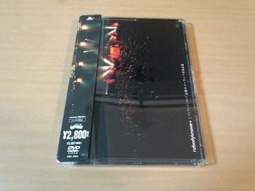 nobodyknows+DVD「出張ネバーランド@名古屋」●