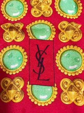 未使用Yves Saint laurentイブサンローラン大判スカーフ正規品