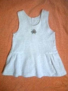 95〜コムサ白セーラーブラウス付きキナリ