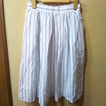 Te chichi ★新品★コードレーンストライプスカート