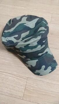 帽子 軍隊風キャップ 迷彩