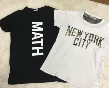 men'sTシャツ 2点セット  Mサイズ