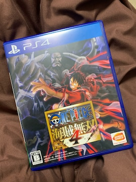ワンピース 海賊無双4 送料込み PS4
