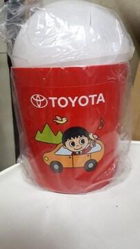 未使用トヨタこども店長ゴミ箱