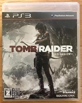 PS3 トゥーム レイダー TOMB RAIDER アクション アドベンチャー プレステ 大人気 名作