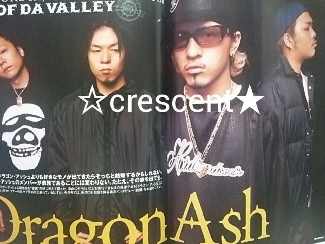 Dragon Ash/切り抜き/2001年  < タレントグッズの