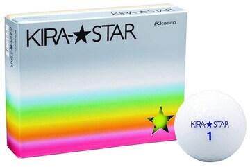 ゴルフボール KIRA STAR2 ホワイト