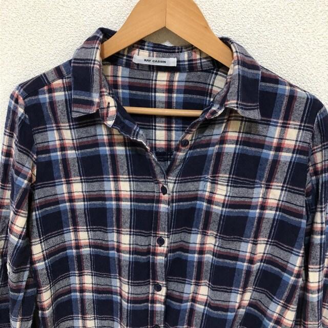 #RAY CASSINチェックシャツF < ブランドの